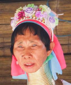 Karen Longneck - head of village