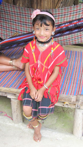 Maria, from the Karen tribe